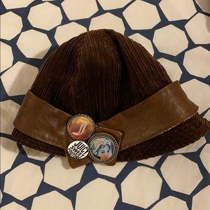 Brown Corduroy Juicy Couture Bucket Hat